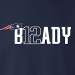 B12ady - Tom Brady, Hoodie, Long-Sleeved, T-Shirt, Crew Sweatshirt, Women's Cut T-Shirt