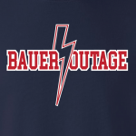 Bauer Outage - Cleveland Indians, Hoodie, Long-Sleeved, T-Shirt, Crew Sweatshirt, Women's Cut T-Shirt