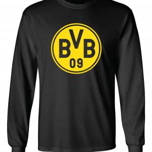 Borussia Dortmund - Soccer, Black, Long-Sleeved