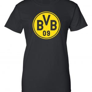 Borussia Dortmund - Soccer, Black, Women's Cut T-Shirt
