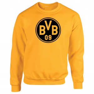 Borussia Dortmund - Soccer, Gold, Crew Sweatshirt