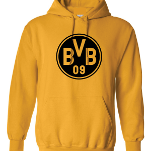 Borussia Dortmund - Soccer, Gold, Hoodie