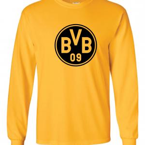 Borussia Dortmund - Soccer, Gold, Long-Sleeved