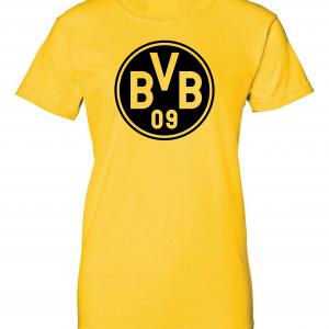 Borussia Dortmund - Soccer, Gold, Women's Cut T-Shirt