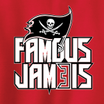 Famous Jameis - Tampa Bay Bucs, Hoodie, Long-Sleeved, T-Shirt, Crew Sweatshirt, Women's Cut T-Shirt