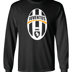 Juventus Crest - Soccer, Black, Long-Sleeved