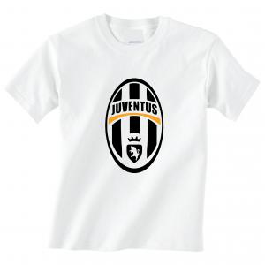 Juventus Crest - Soccer, White, T-Shirt