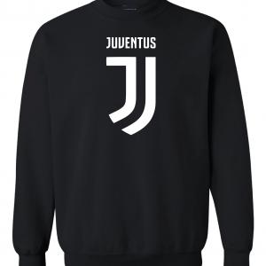 Juventus Logo - Soccer, Black, Crew Sweatshirt