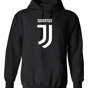 Juventus Logo - Soccer, Black, Hoodie