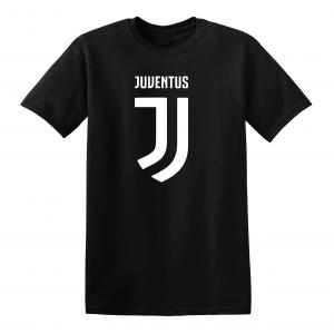 Juventus Logo - Soccer, Black, T-Shirt