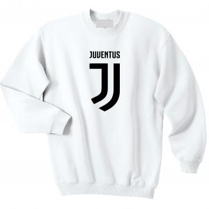 Juventus Logo - Soccer, White, Crew Sweatshirt