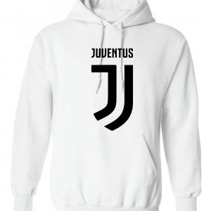 Juventus Logo - Soccer, White, Hoodie