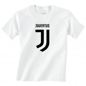 Juventus Logo - Soccer, White, T-Shirt