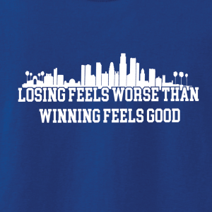 Losing Feels Worse Than Winning Feels Good - Dodgers - Vin Scully, Hoodie, Long-Sleeved, T-Shirt, Crew Sweatshirt, Women's Cut T-Shirt