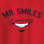 Mr. Smiles - Francisco Lindor - Cleveland Indians, Hoodie, Long-Sleeved, T-Shirt, Crew Sweatshirt, Women's Cut T-Shirt