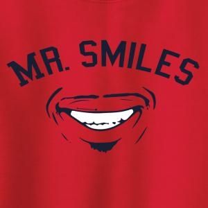 Mr. Smiles - Francisco Lindor - Cleveland Indians, Hoodie, Long-Sleeved, T-Shirt, Crew Sweatshirt, Women's Cut T-Shirt