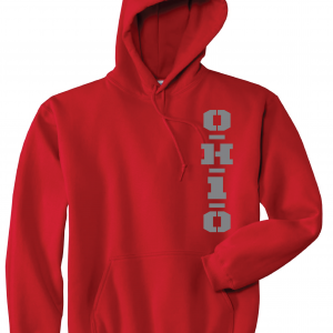 OH1O - Ohio State Buckeyes, Red, Hoodie