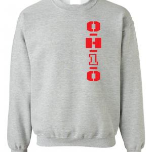 OH1O - Ohio State Buckeyes, Grey, Sweatshirt