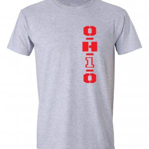 OH1O - Ohio State Buckeyes, Grey, T-Shirt