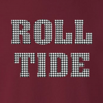 Roll Tide - Alabama, Hoodie, Long-Sleeved, T-Shirt, Crew Sweatshirt, Women's Cut T-Shirt