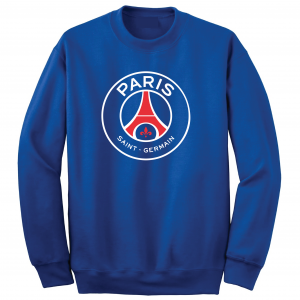 Saint Paris Germain - Soccer, Royal Blue, Crew Sweatshirt