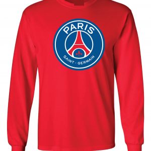 Saint Paris Germain - Soccer, Red, Long-Sleeved