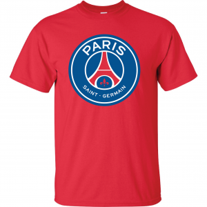 Saint Paris Germain - Soccer, Red, T-Shirt