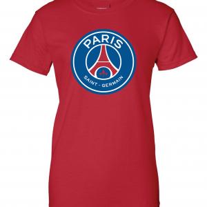 Saint Paris Germain - Soccer, Red, Women's Cut T-Shirt