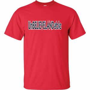 Unbelievelandable - Cleveland Indians, Red, T-Shirt