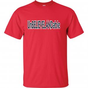 Unbelievelandable - Cleveland Indians, Red, T-Shirt