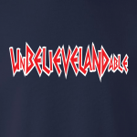 Unbelievelandable [Script Letters] - Cleveland Indians, Hoodie, Long-Sleeved, T-Shirt, Crew Sweatshirt, Women's Cut T-Shirt
