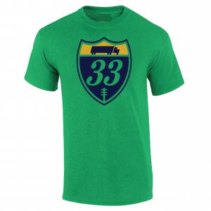 33 Trucking - Josh Adams, Green, T-Shirt