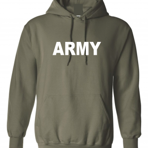 Army, Army Green/White, Hoodie