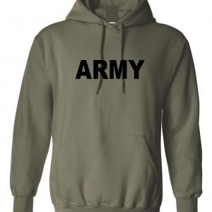 Army, Army Green/Black, Hoodie