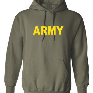Army, Army Green/Yellow, Hoodie