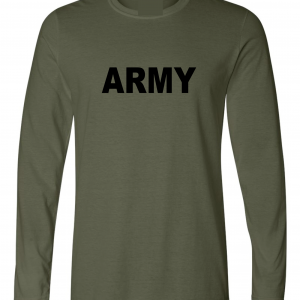 Army, Army Green/Black, Long-Sleeved