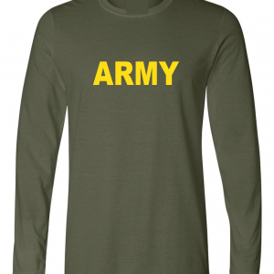 Army, Army Green/Yellow, Long-Sleeved