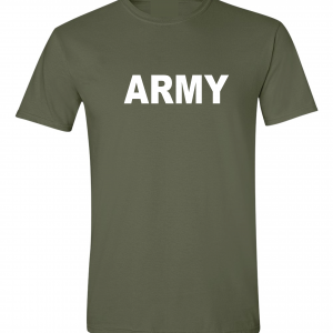 Army, Army Green/White, T-Shirt