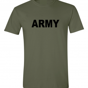 Army, Army Green/Black, T-Shirt