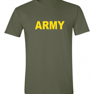 Army, Army Green/Yellow, T-Shirt