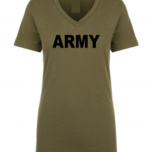 Army, Army Green/Black, Women's Cut T-Shirt