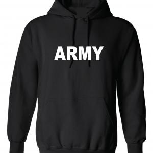 Army, Black/White, Hoodie
