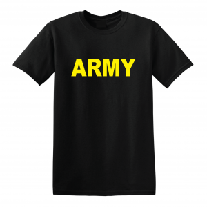 Army, Black/Yellow, T-Shirt