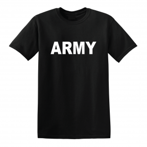 Army, Black/White, T-Shirt