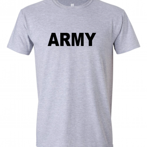 Army, Grey/Black, T-Shirt