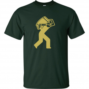Barrel Worker, Forest Green, T-Shirt