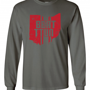 Beat TTUN, Grey, Long-Sleeved