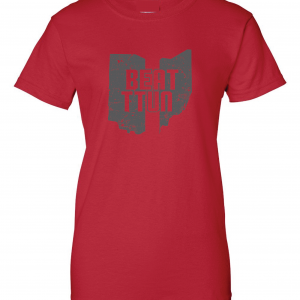 Beat TTUN, Red, Women's Cut T-Shirt