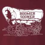 Boomer Sooner, Hoodie, Long-Sleeved, T-Shirt, Crew Sweatshirt, Women's Cut T-Shirt