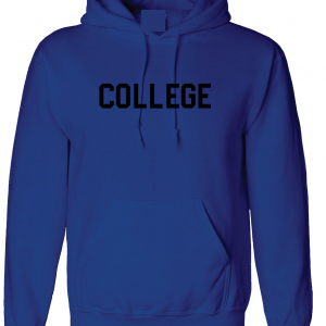 College, Royal Blue/Black, Hoodie